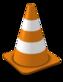 VLC grotuvo logotipas